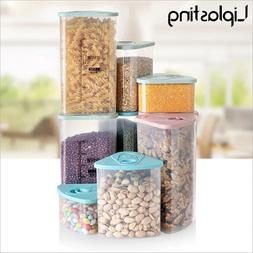 Food Storage Box Clear Container <font><b>Set</b></font> <fo