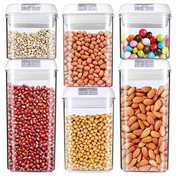 Food Storage Container, MCIRCO Air-Tight Cereal & Dry Food S
