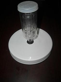 Gallon Jar Lid with 3-Piece  Airlock for Fermenting , Cannin