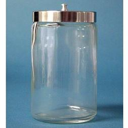 Glass Sundry Jar With Lid Medical Supplies Kitchen Tools Bat