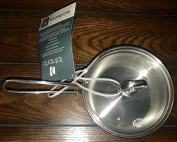 Chantal Induction 1 Qt Stainless Steel Saucepan with Lid