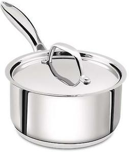Induction Compatible 2 Quart Premium Stainless Steel Saucepa