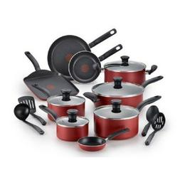 T-fal Initiatives Nonstick Inside and Out Dishwasher Safe 18