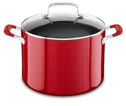 KitchenAid KC2A80SCER Aluminum Nonstick 8.0 quart Stockpot w