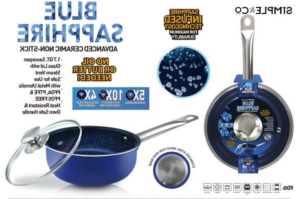 1.7 QT Nonstick Ceramic Coating Stainless Induction