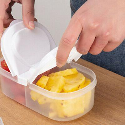 10X(Kitchen Food Storage Clear Container Lids