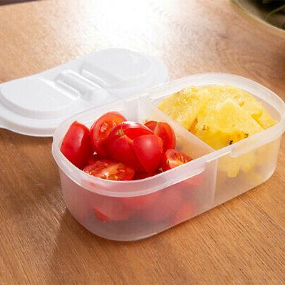 10X(Kitchen Clear Container Food Snacks D T6I8