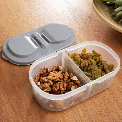 10X(Kitchen Food Storage Clear Container Lids Food Sealed Snacks D T6I8
