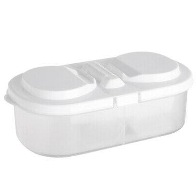 10x kitchen food storage box clear container