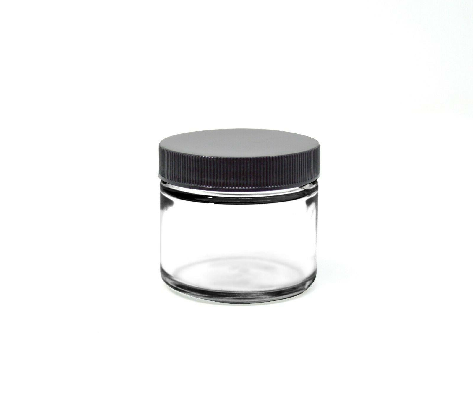 2 oz glass jars with lid 42