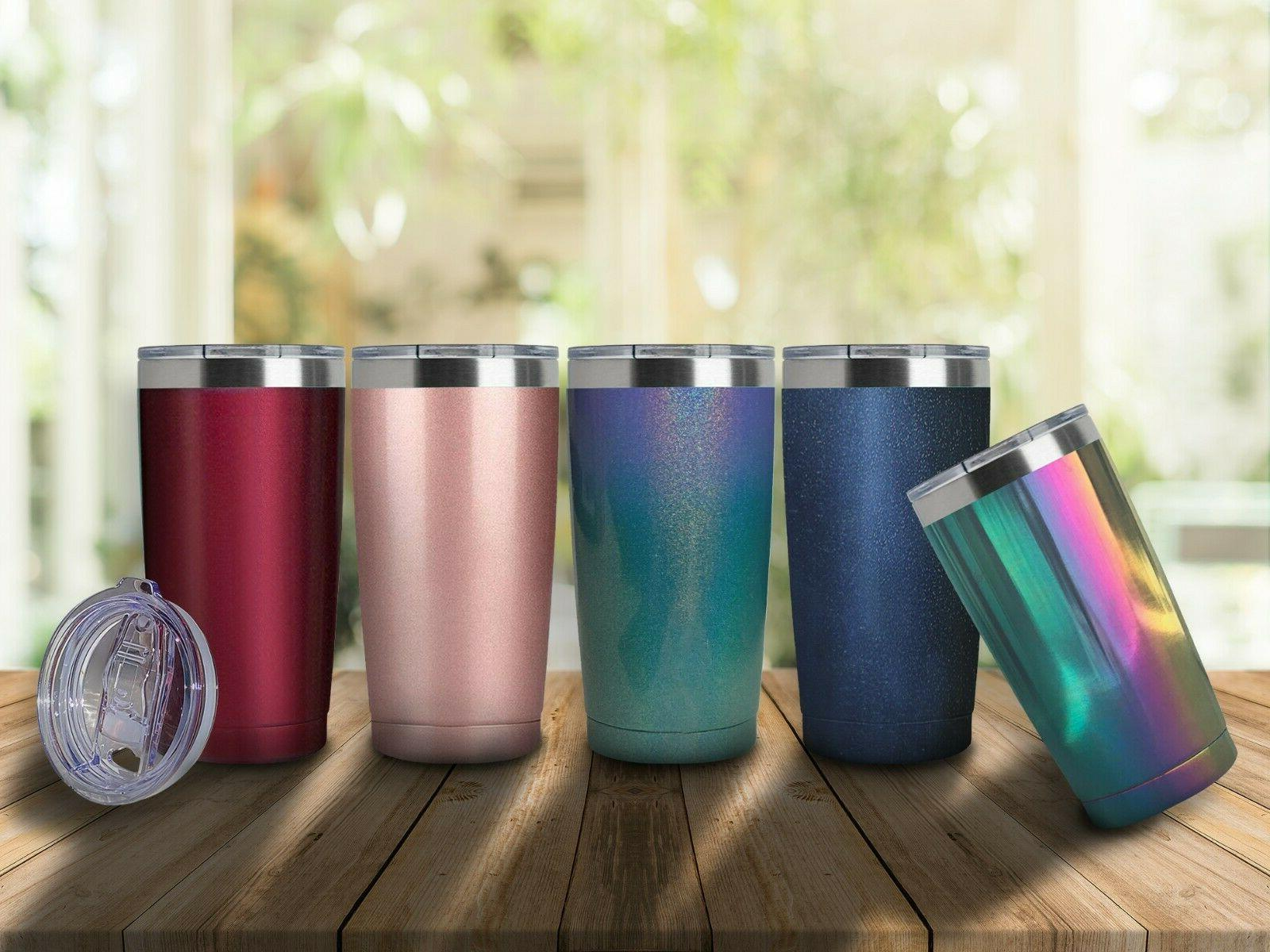 20OZ Slider Lid Double Wall Vacuum Travel Cup