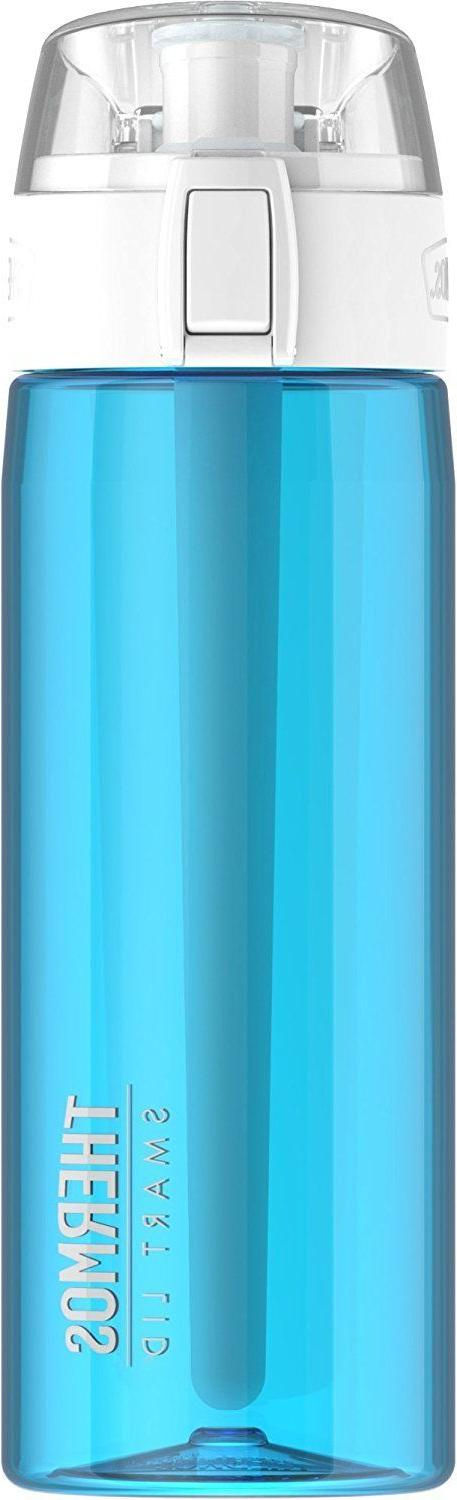 24 ounce hydration bottle with connected smart