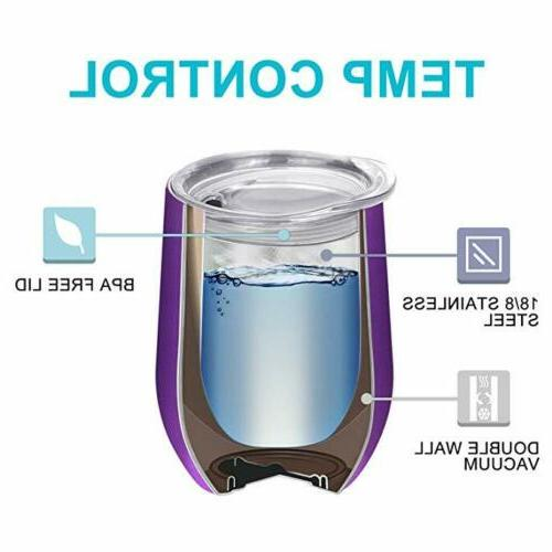 2pcs 12oz Stainless Insulated with
