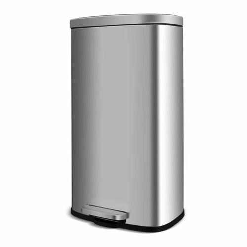 30L Can Rectangular Garbage with Lid and Inner