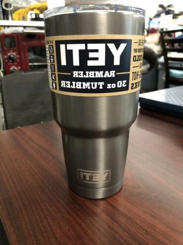 30oz tumbler with lid new