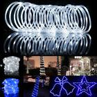 39ft 100leds solar rope tube fairy lights