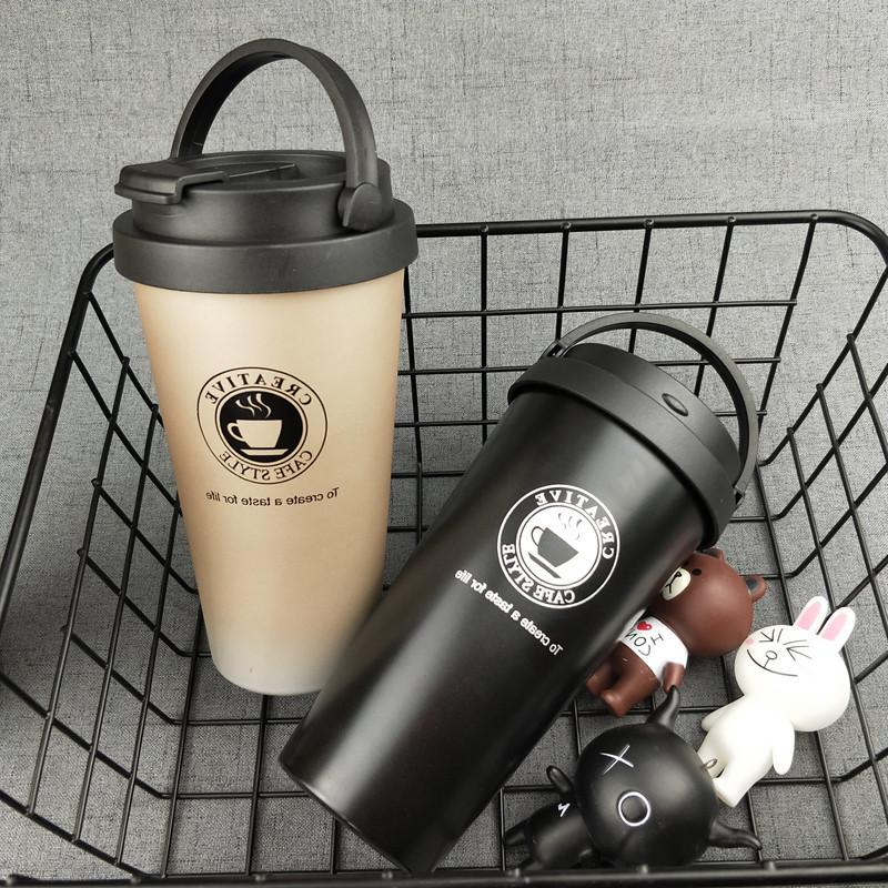 UPORS Coffee Creative Stainless Travel Vacuum Insulated <font><b>Tumbler</b></font> Mouth <font><b>Lid</b></font>
