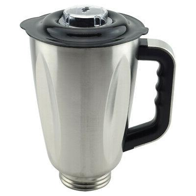 6 cup stainless steel jar with handle
