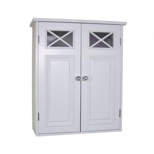 Elegant Home Fashions Dawson Collection Shelved Wall Cabinet