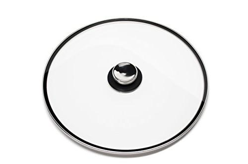 Quicklids Large Universal Pot Lid with Cool-Touch Knob fits