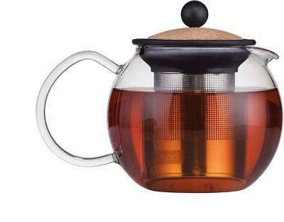 assam tea press with stainless steel filter