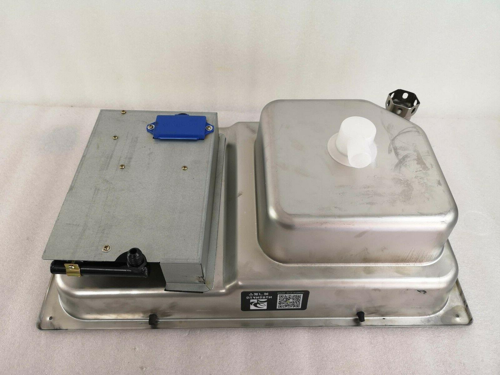 Boat Gas Hob Sink Comb With Tempered Glass Inch