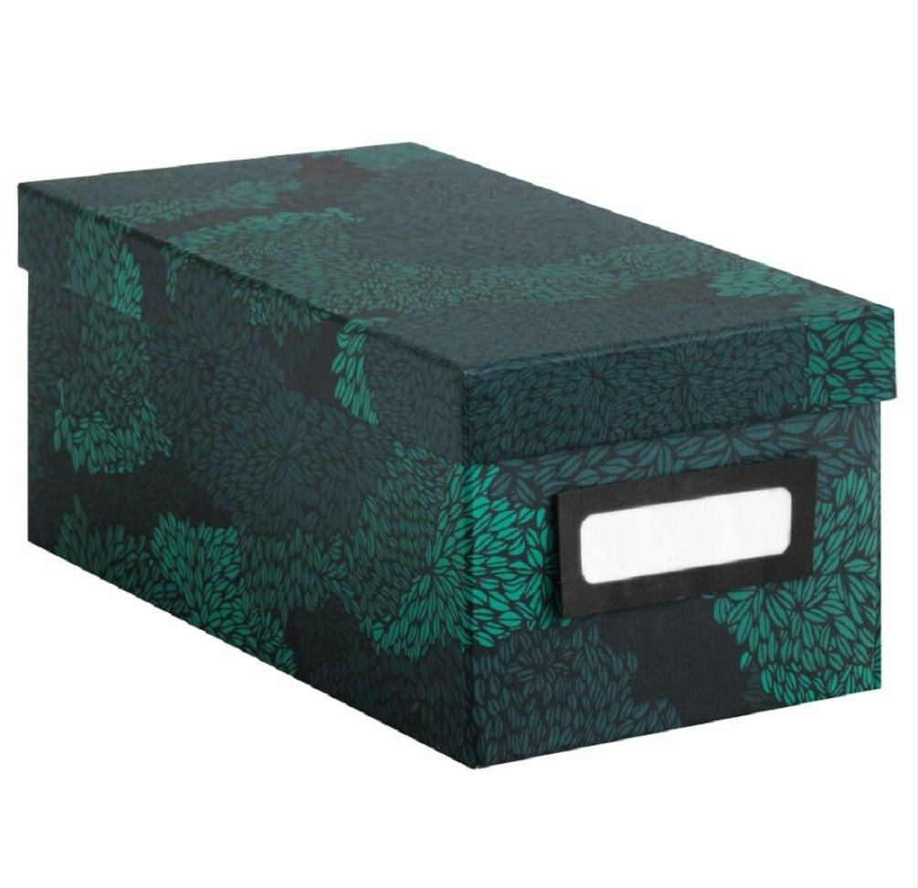 box with lid 10 25 black blue