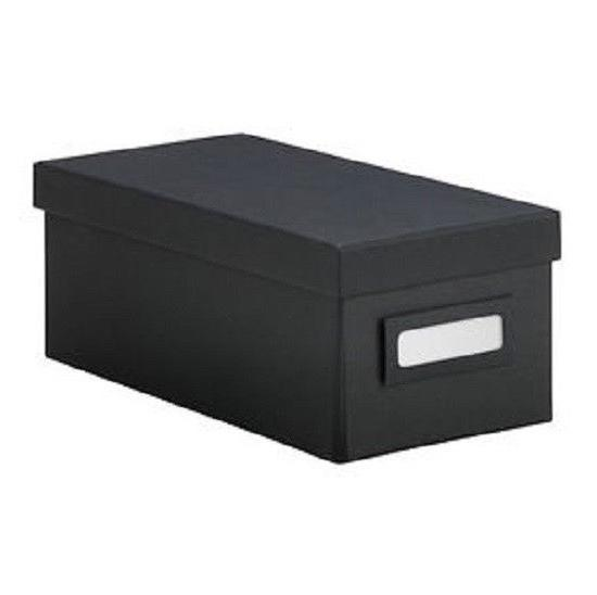 box with lid 10 25 black home