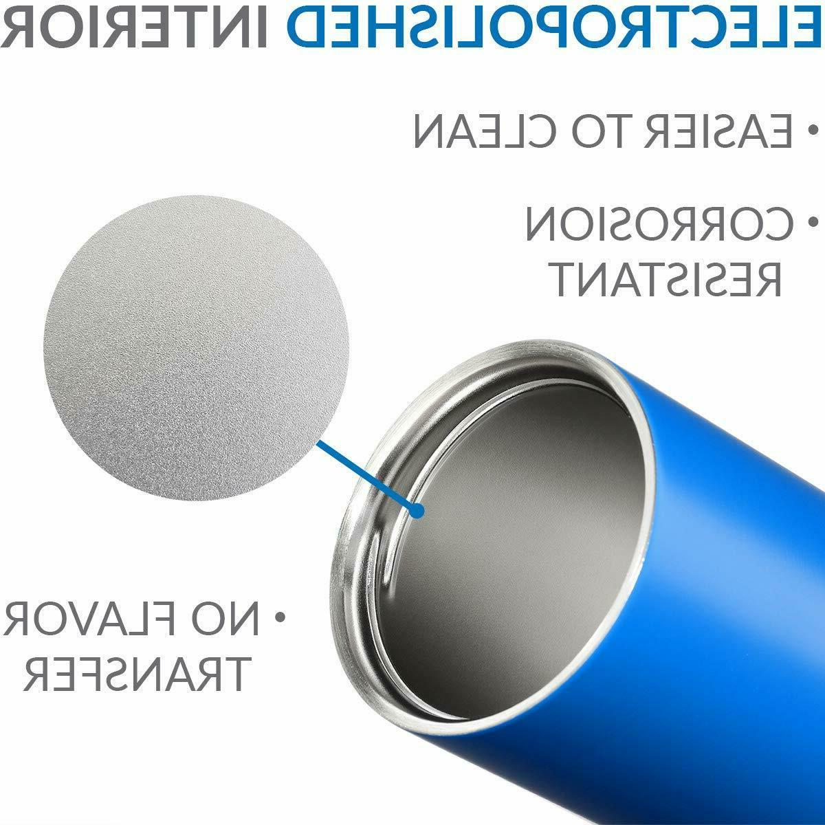 Cupture BPA Stainless Steel Insulated Tumbler Cup Straw and lid