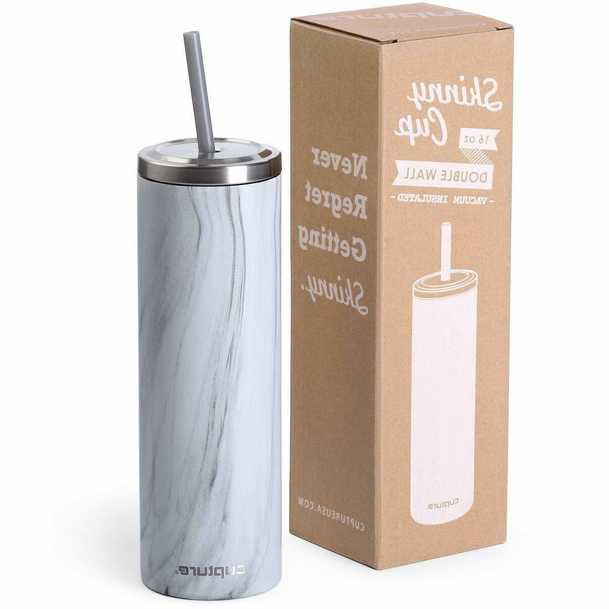 bpa free stainless steel skinny insulated tumbler
