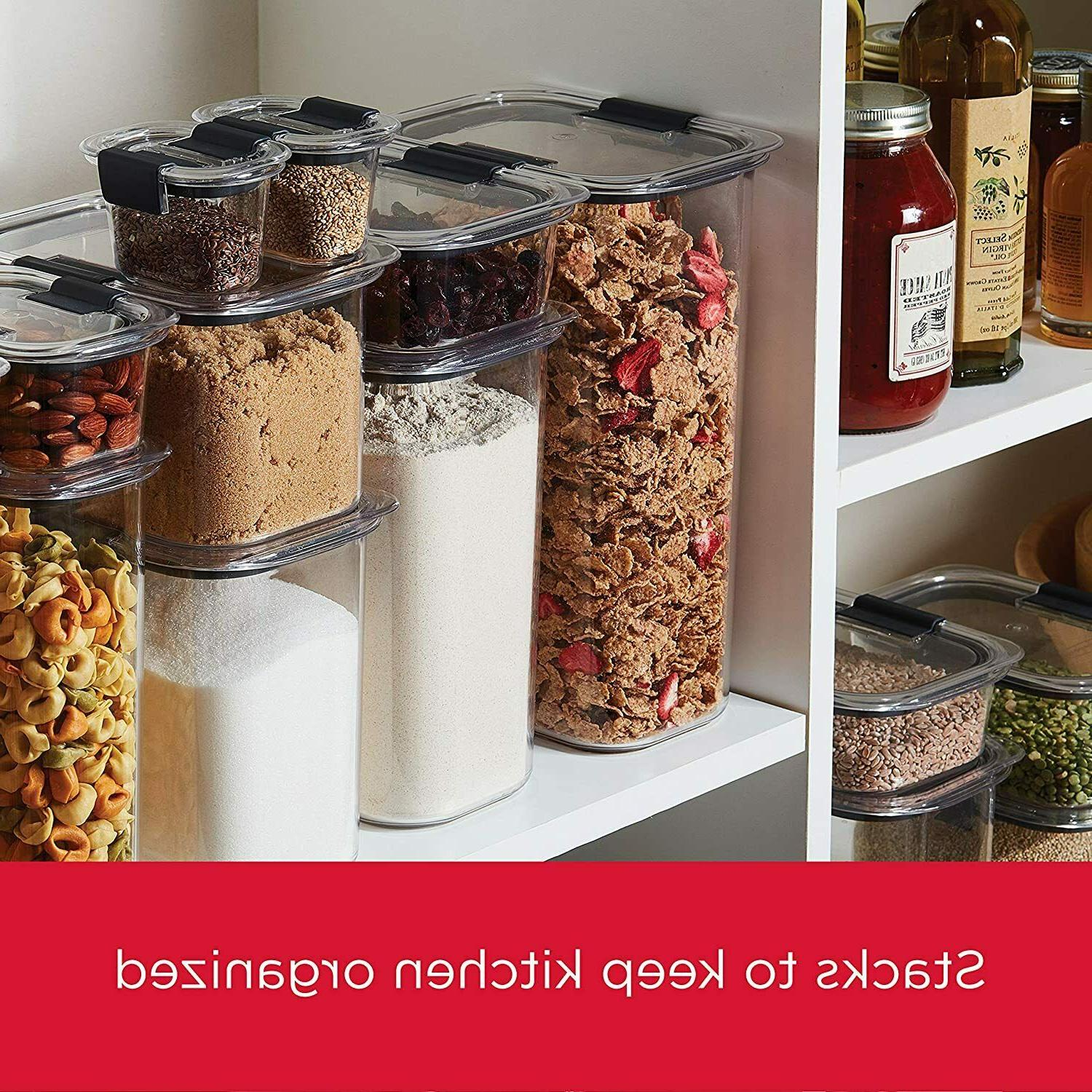 Brilliance Pantry Organization Food Containers Airtight