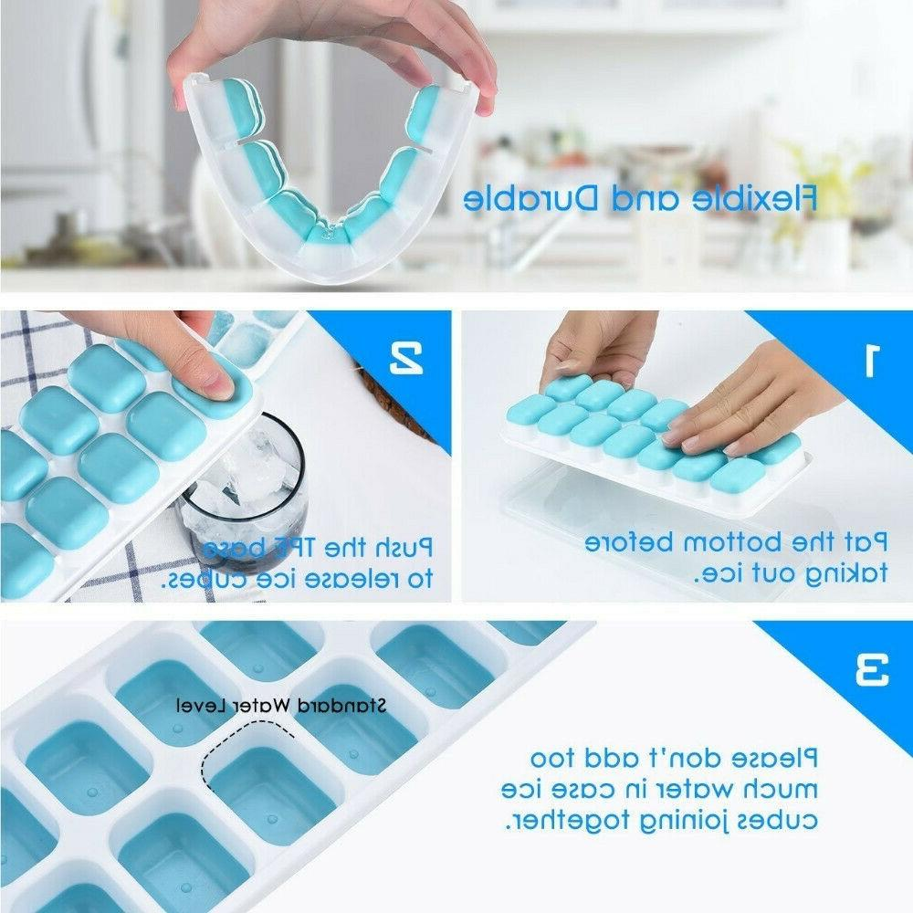 Chef Romio Silicone Ice Cube With Free Cube,Blue