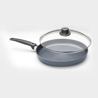 "Woll Diamond Plus/Diamond Lite Induction 12.5"" Fry Pan w/Lid"