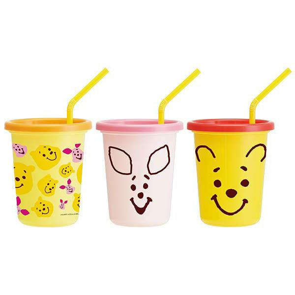 Disney Winnie The Pooh Cold Cup for Kids with Lid and Straw