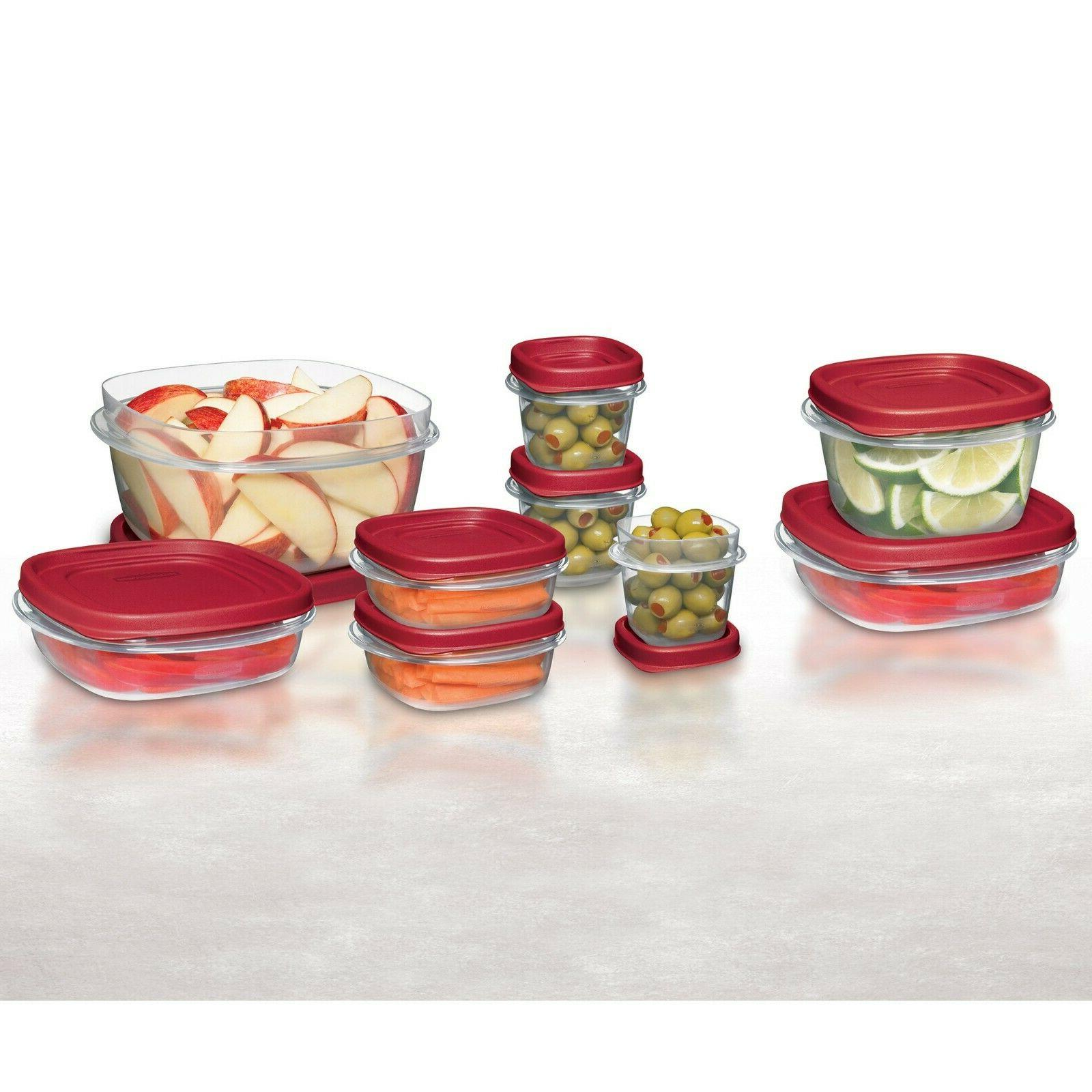 Rubbermaid Food with Easy Lids, 24-Piece Set