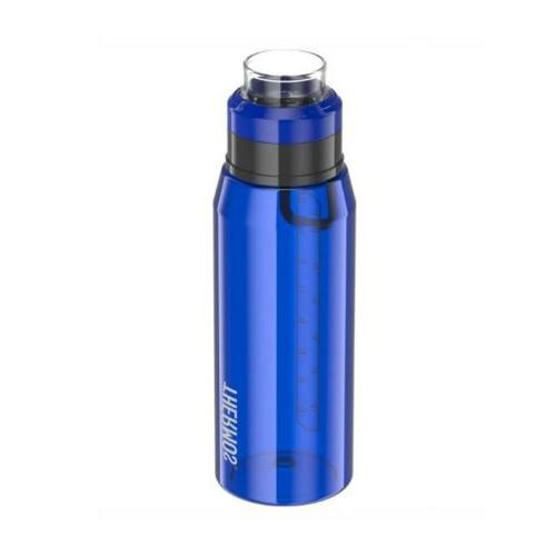 hydration bottle with 360 degree drink lid