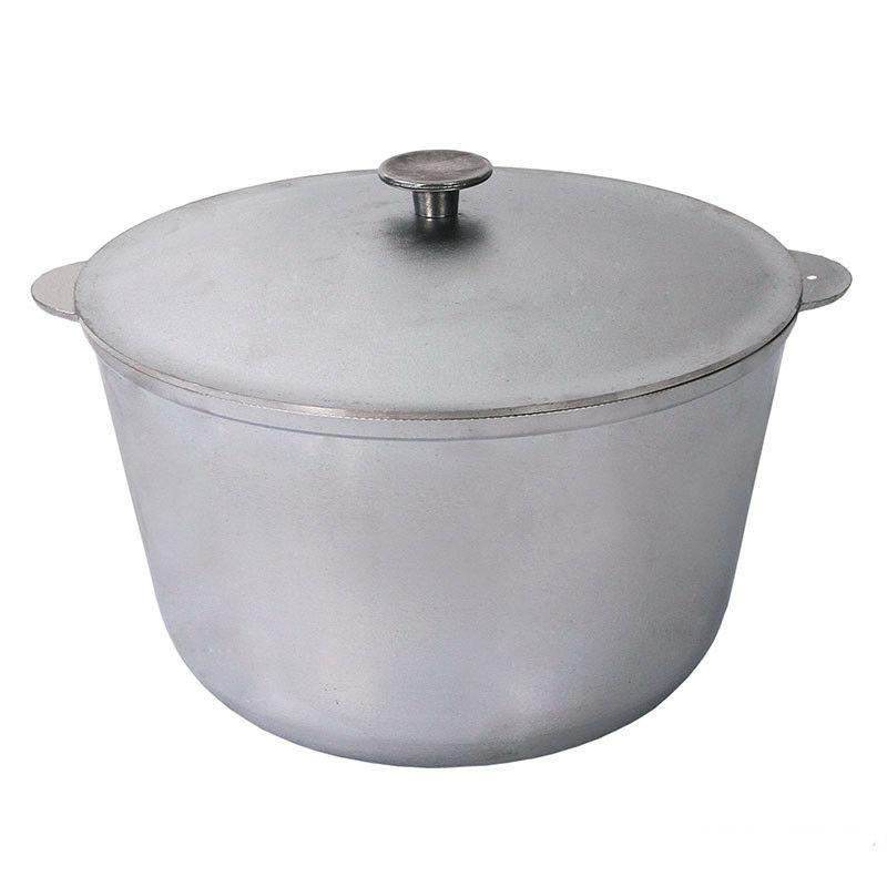 Kazan with Lid 1 Gal  for Stews Pilaf Lagman Soup Pot