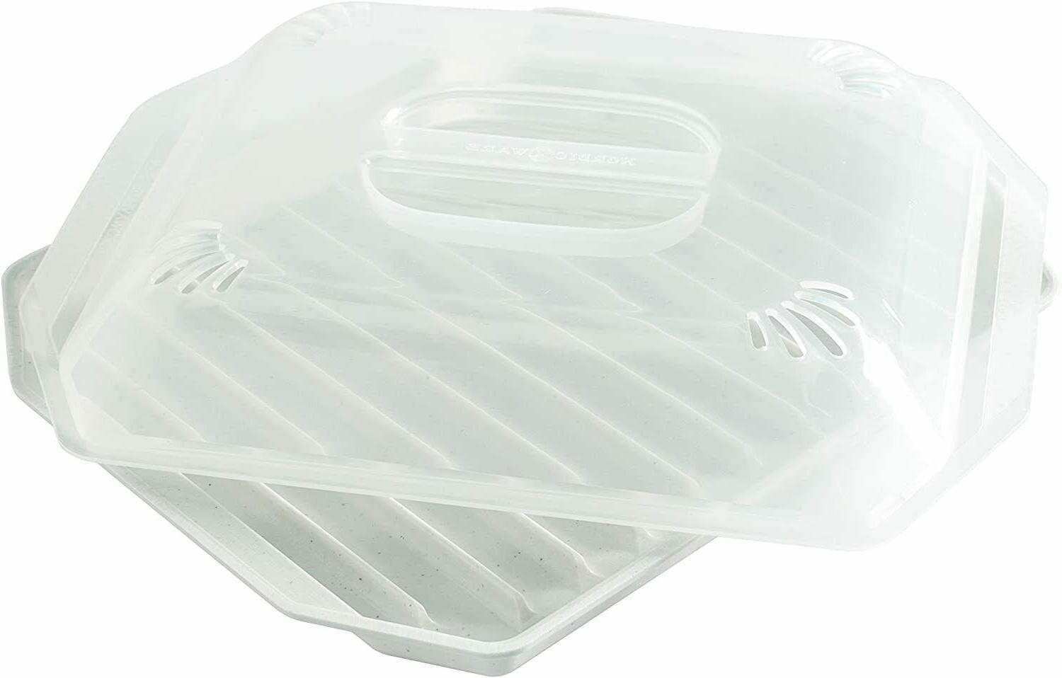 Microwave Lid Sausage Grill Cookware
