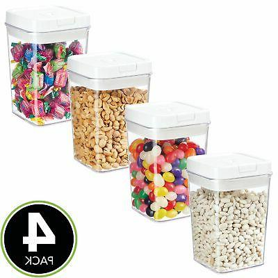 Rubbermaid Lock-Its Food Storage Canister with Easy Find Lid