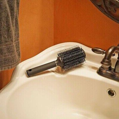 Outdoor Hair Brush With Comb For