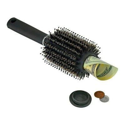 Outdoor Safe Hair Brush With Removable Lid Comb For Outdoor