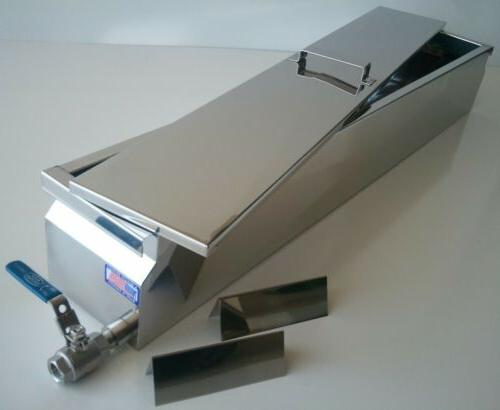 Parkerizing Tank with Lid, Stainless Steel, 304, blueing, gu