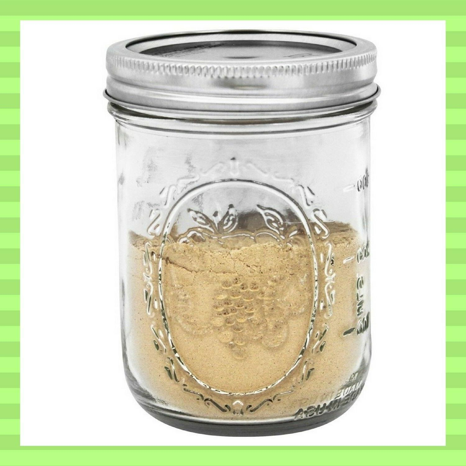 12 Pack Pint Jars and Ball Mason Wide Mouth