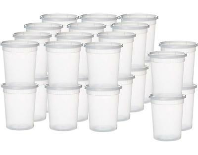 Plastic Containers for Food 32 Ounce