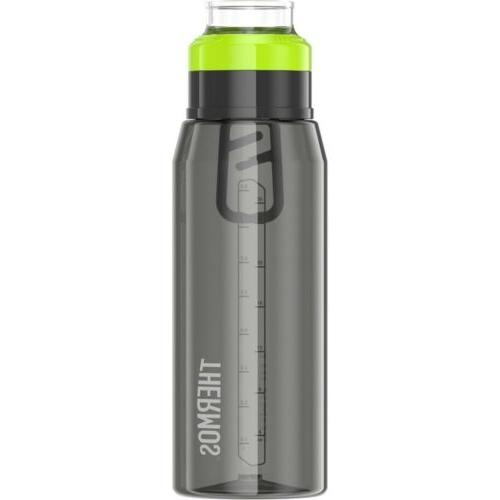 plastic hydration bottle with 360 degree drink