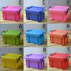 Affordable Candy Color Mini Container Organizer With Lid Sto