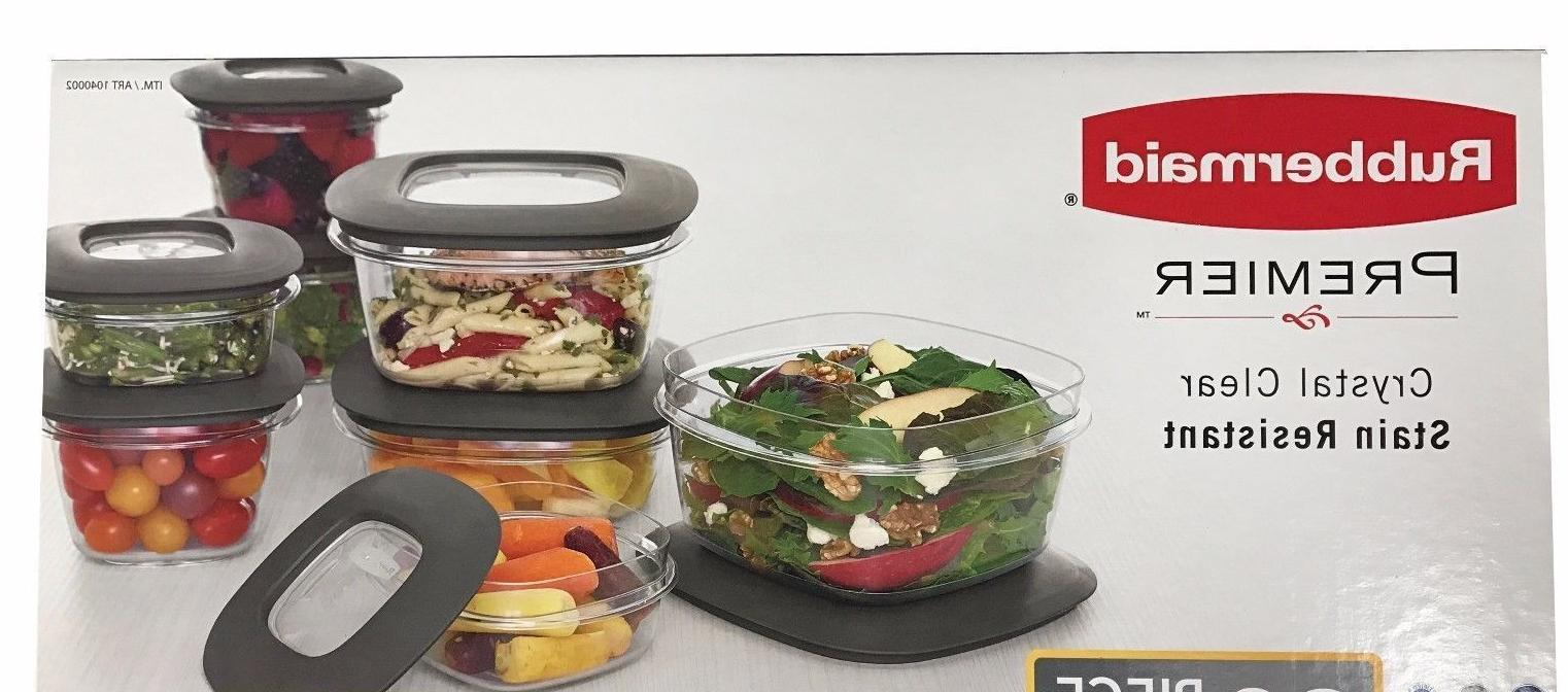 Rubbermaid Premier Containers with Lids
