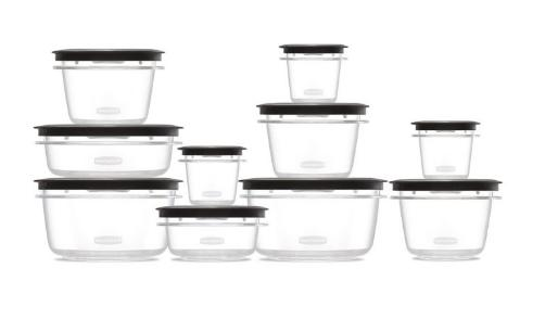 Rubbermaid Containers with Lids