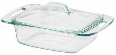 easy grab glass casserole dish with glass