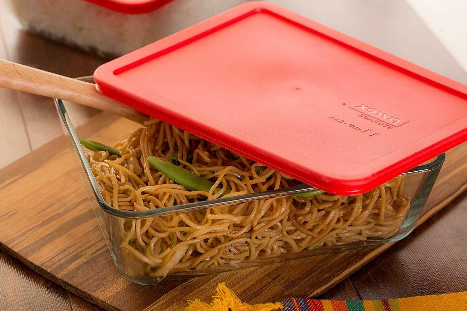 Pyrex Simply Store Glass Rectangular Food Container